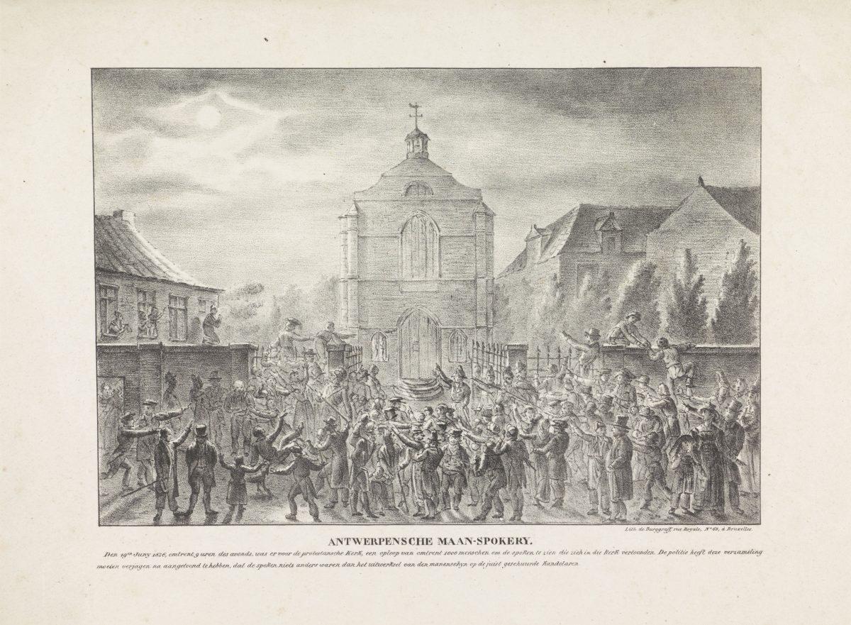 Antwerpensche Maanspokerye